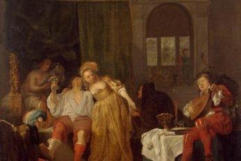 Возвращение блудного сына. Габриэль Метс. 1667