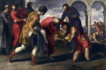 Возвращение блудного сына. Пальма Джоване. 1595