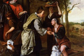 Возвращение блудного сына. Ян Стен. 1670