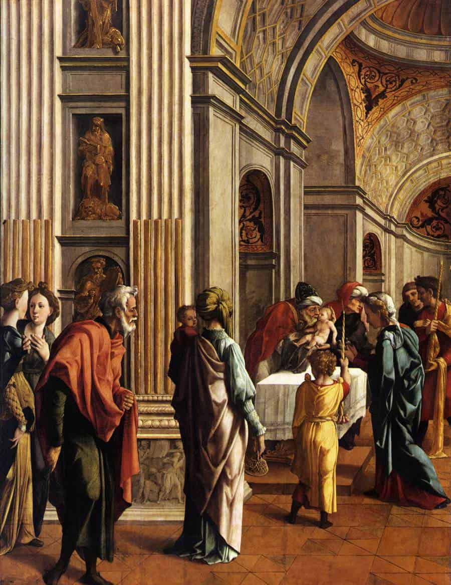 Ян ван Скорел. Принесение Христа во храм