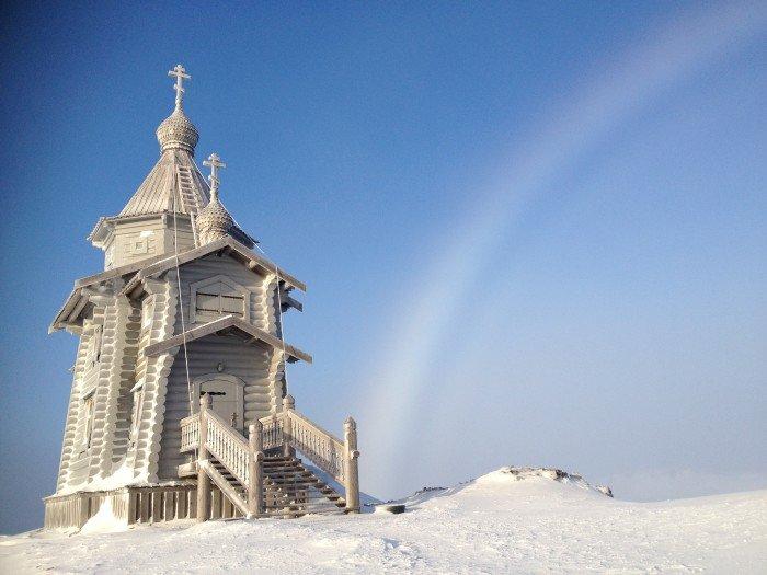 патриарх в антаркиде