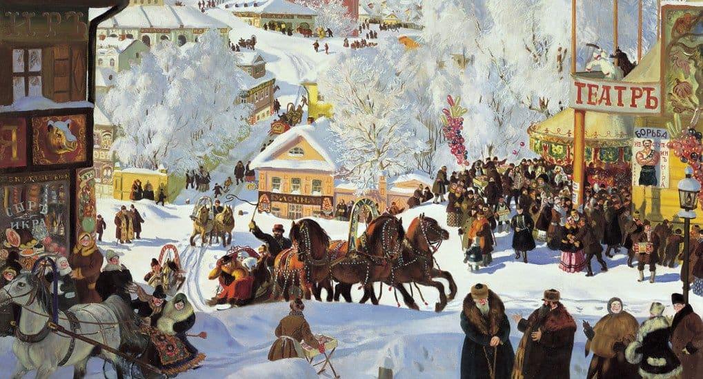 Картина Кустодиева