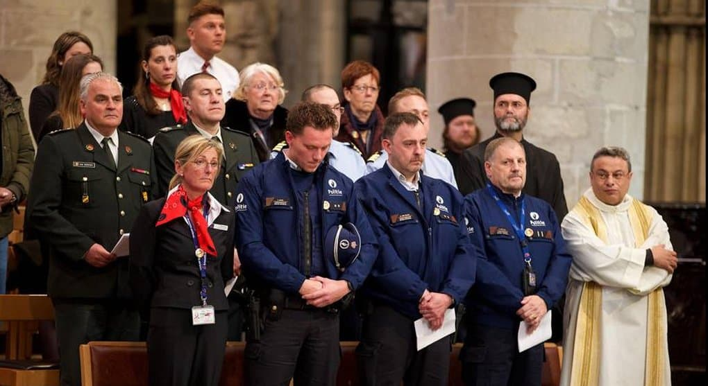 Христиане Брюсселя помянули жертв терактов 22 марта