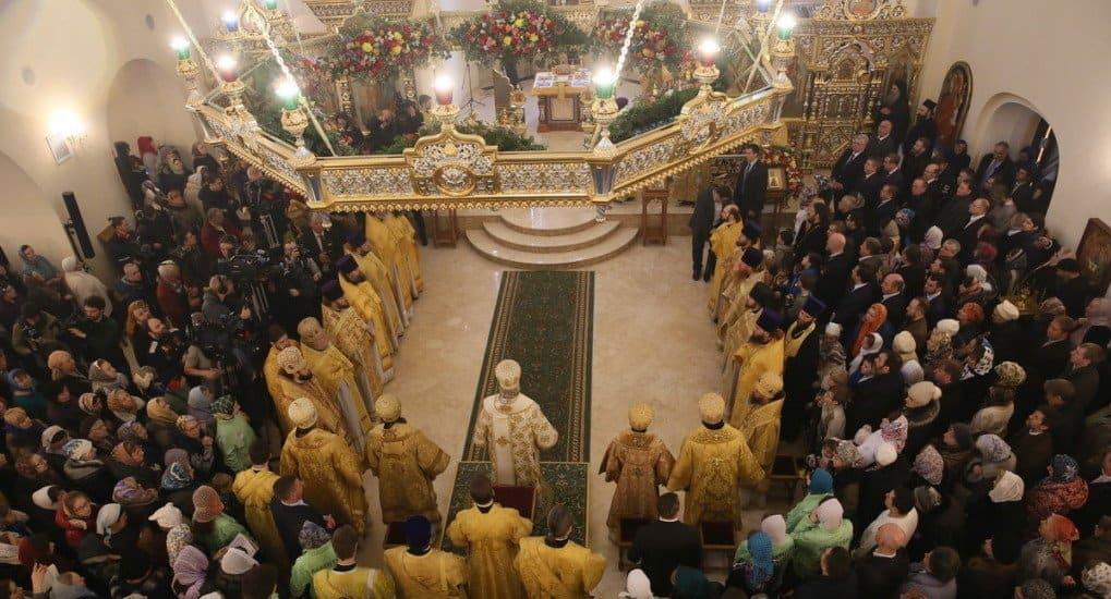 Патриарх освятил храм при МГИМО