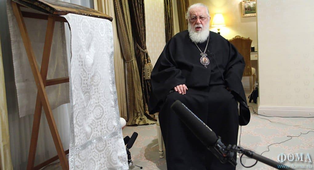 Католикоса Илию II читатели грузинской газеты назвали «Человеком года»