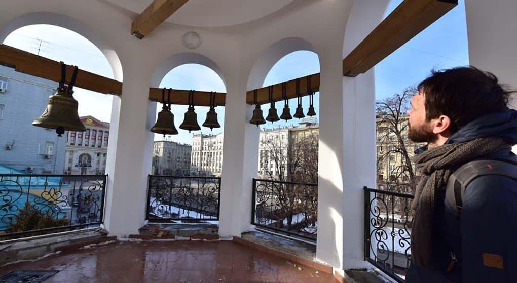 Воссоздана историческая колокольня храма Косьмы и Дамиана в Шубине