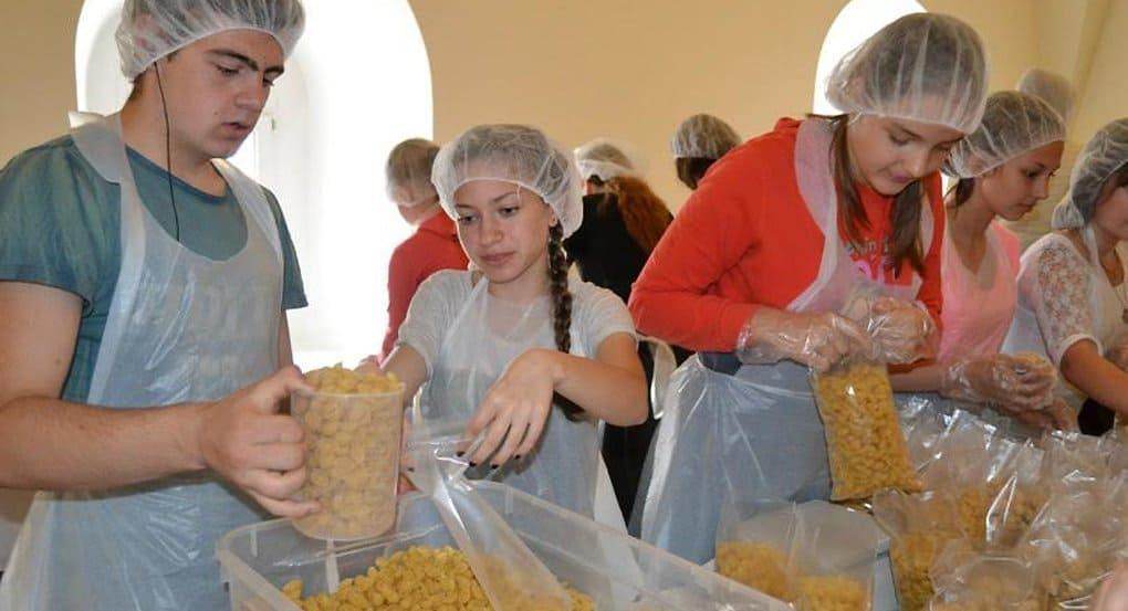 В Петербурге при поддержке епархии дали старт «Народному обеду»