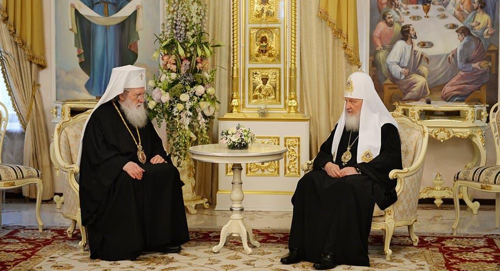 Патриарх Кирилл встретился с болгарским патриархом Неофитом