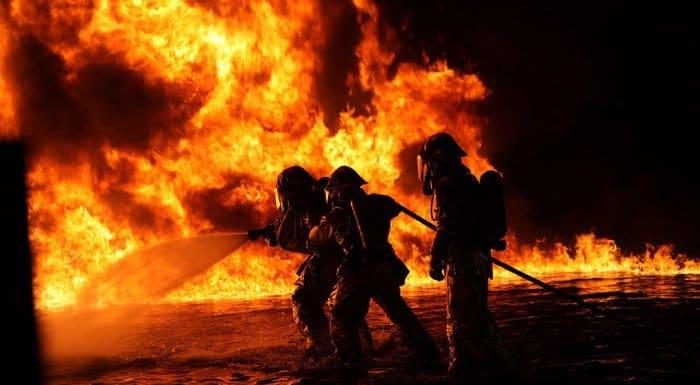 Накануне католической Пасхи в Финляндии сожгли церковь XVIII века