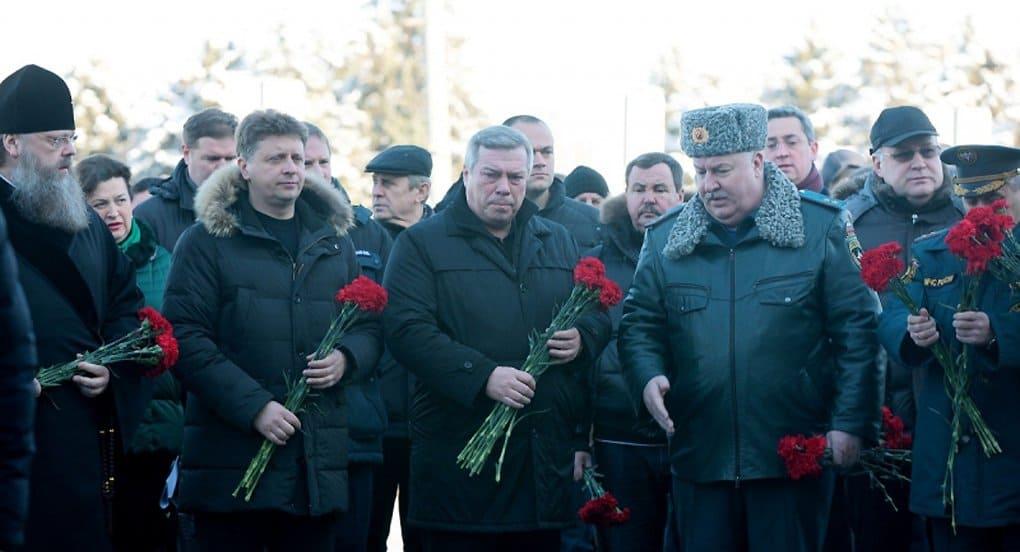 В Ростове-на-Дону почтили память жертв авиакатастрофы
