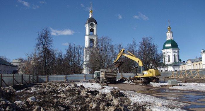 В Сарове начали восстанавливать собор, разрушенный в советское время