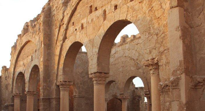 Российские археологи помогают в сохранении древних храмов Сирии