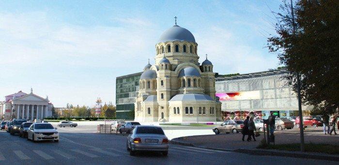 Воссозданный собор Александра Невского станет «душой Волгоградской земли»