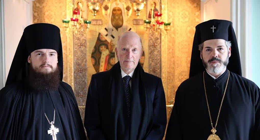 Царь болгар Симеон II побывал в московском монастыре