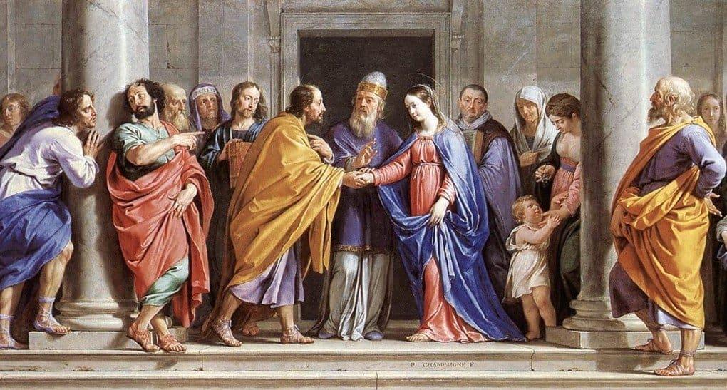 Дева Мария считала Иосифа мужем?