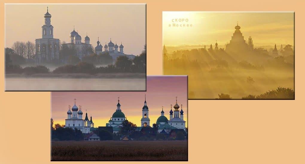 Фотовыставка о храмах России на Патриаршем мосту будет работать до конца июля
