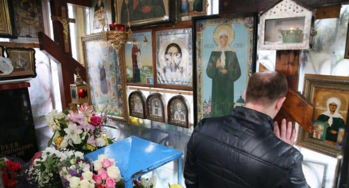 Акафист блаженой Матроне Московской