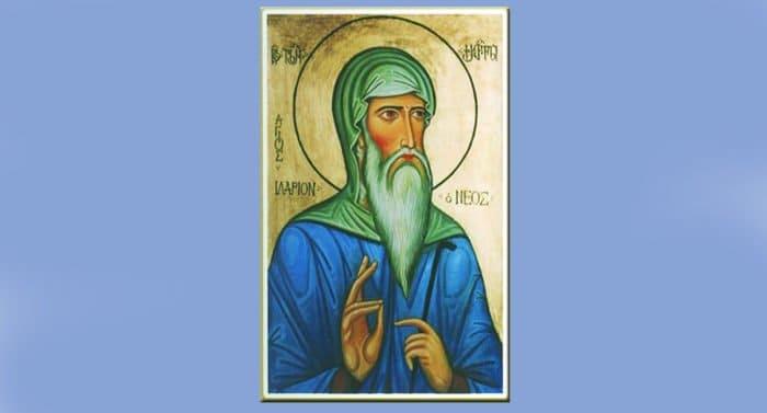 Преподобный Иларион Грузин включен в месяцеслов Русской Церкви