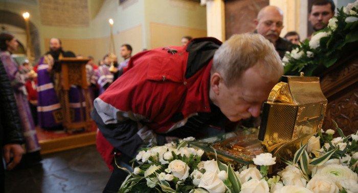 Более 50 тысяч человек поклонились мощам святителя Луки в Москве