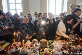 Москва, храм св. мчц.Татианы, Великая суббота, фото Юлии Маковейчук, foma (76)