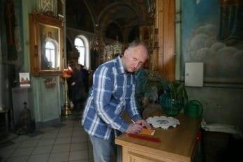 Освящение куличей. Фото Владимира Ештокина. foma (10)