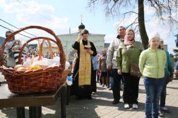 Освящение куличей. Фото Владимира Ештокина. foma (22)