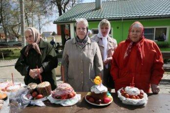 Освящение куличей. Фото Владимира Ештокина. foma (27)