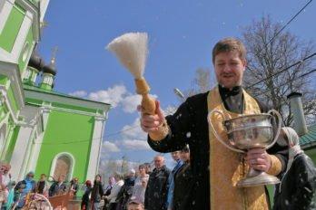 Освящение куличей. Фото Владимира Ештокина. foma (31)
