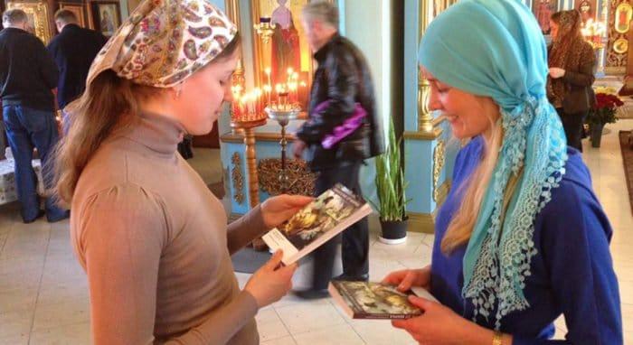 Накануне Пасхи пришедшим в храмы подарят Евангелие от Марка