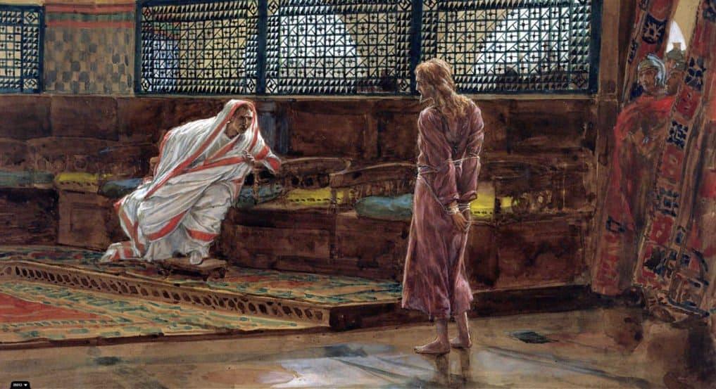 Иисус Христос перед Пилатом. Джеймс Тиссо. 1886
