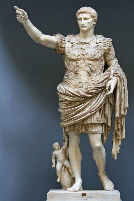 Статуя Октавиана Августа. Источник фото wikipedia.org