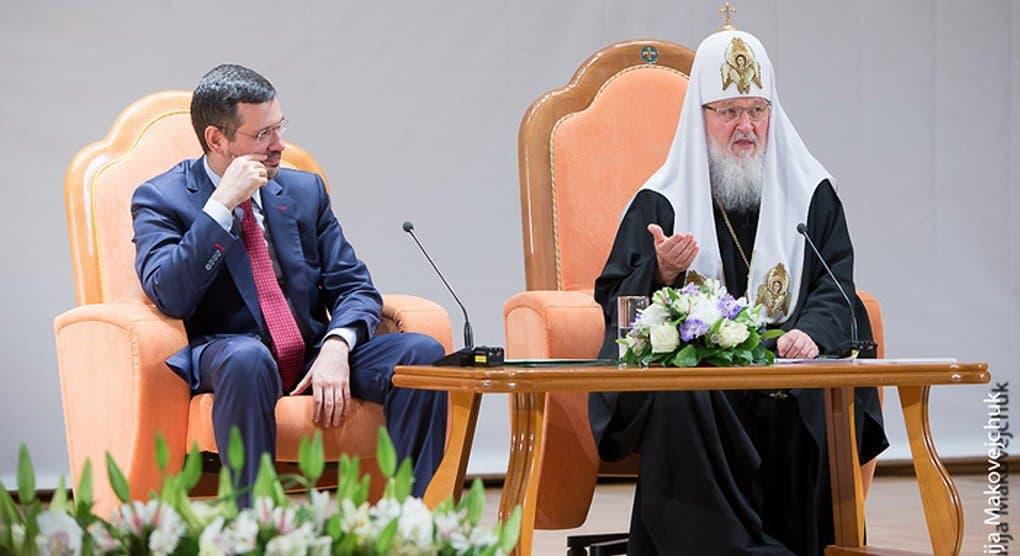 На «Вере и Слове» в октябре 2016-го патриарх Кирилл ответит на вопросы верующих