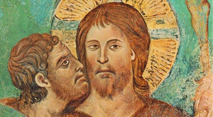 Великая Среда: помазание Христа миром и предательство Иуды