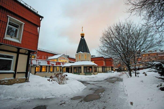 Здание Первого Московского хосписа