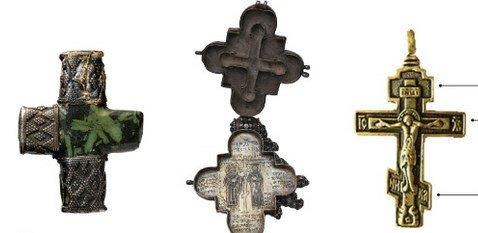Как выглядит канонический нательный крестик?