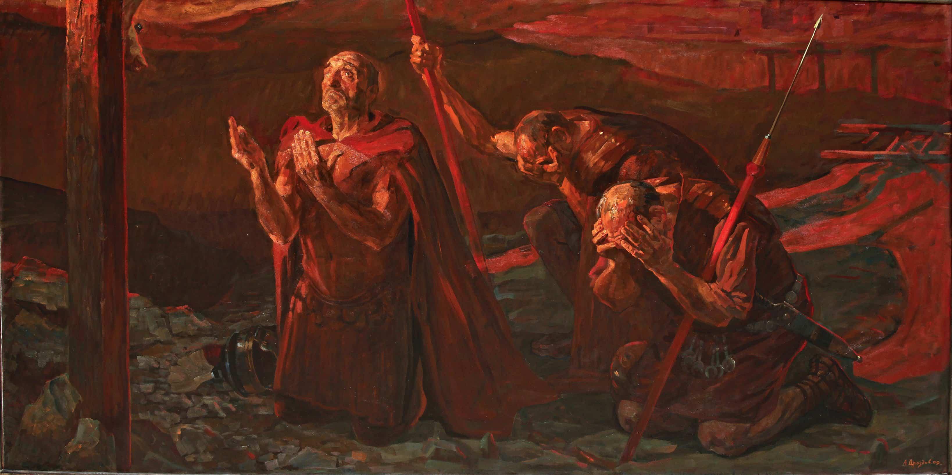 Святой сотник Лонгин. Андрей Дроздов. 2009