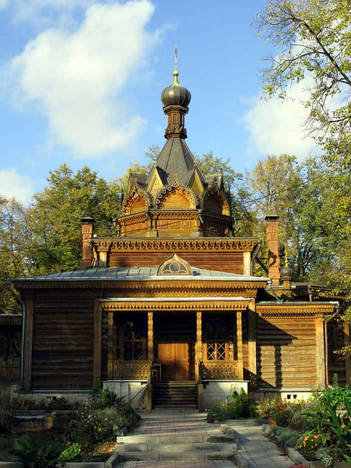 Храм Тихона Задонского в Сокольниках