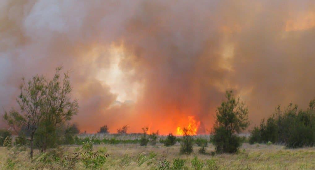 Пожар еще далеко