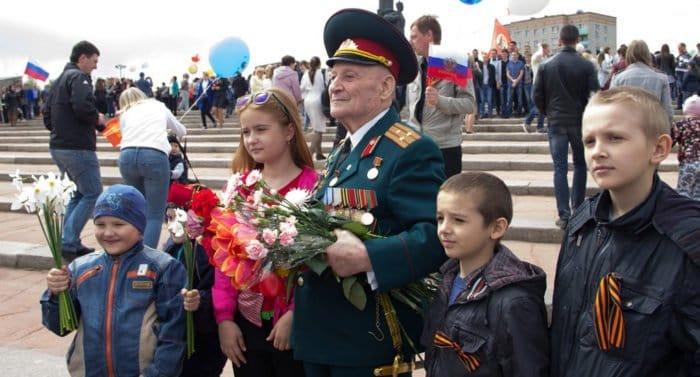 В России отмечают День Победы