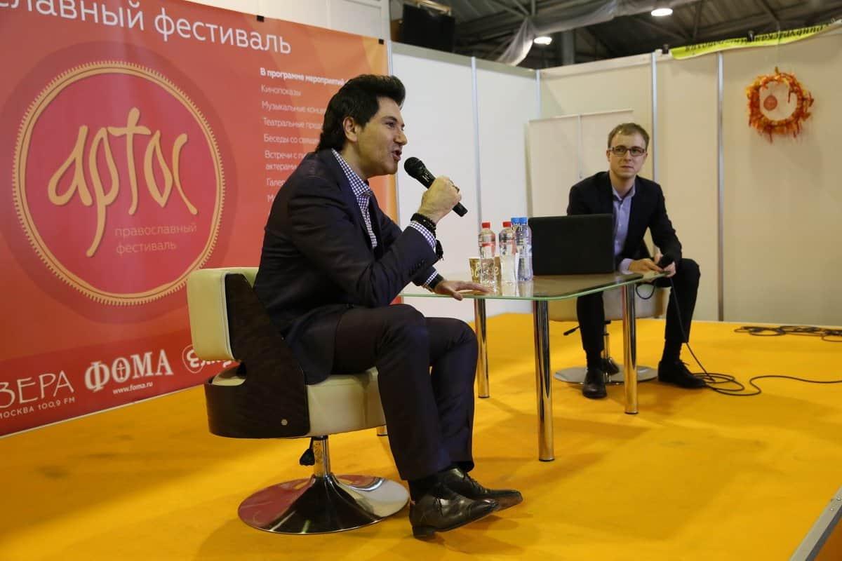 Поздравляем друга «Фомы» Алексея Токарева с десятым фестивалем «Артос»!