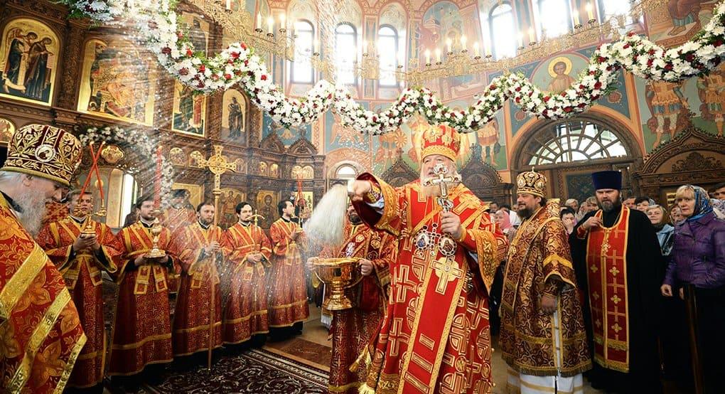 Патриарх Кирилл освятил храм в Котельниках с иконостасом от итальянского мастера