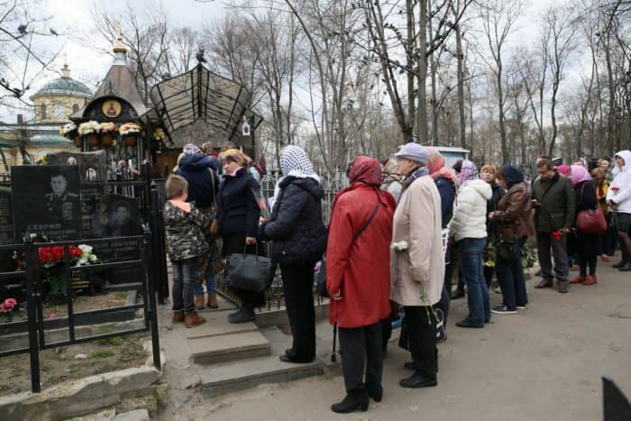 Фото Владимира Ештокина. Даниловское кладбище
