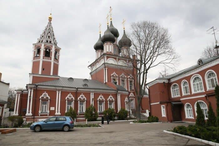 Фото Владимира Ештокина. Церковь Положения Ризы Господней на Донской улице