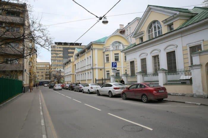 Фото Владимира Ештокина, Вишняковский переулок