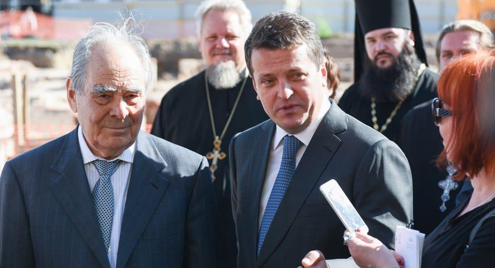 Мэр Казани Ильсур Метшин 10 лет молился о воссоздании Казанского собора