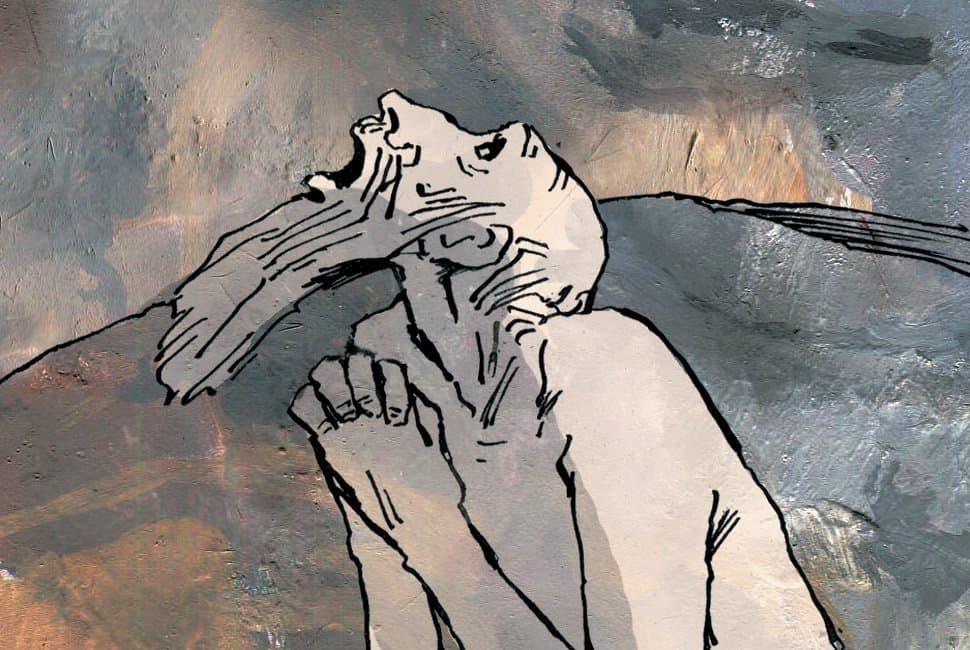 Иов, В картинках, Рисунки Наталии Кондратовой