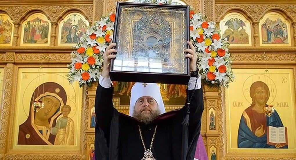Казанскую икону Божией Матери принесли в Казахстан