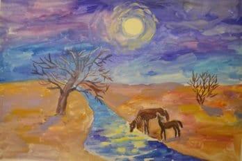 Рисунки Ксении.