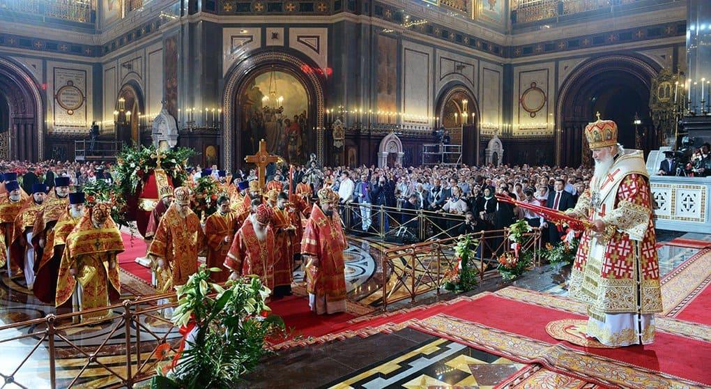 В Пасхальных богослужениях приняло участие более 1 миллиона москвичей, - Владимир Легойда