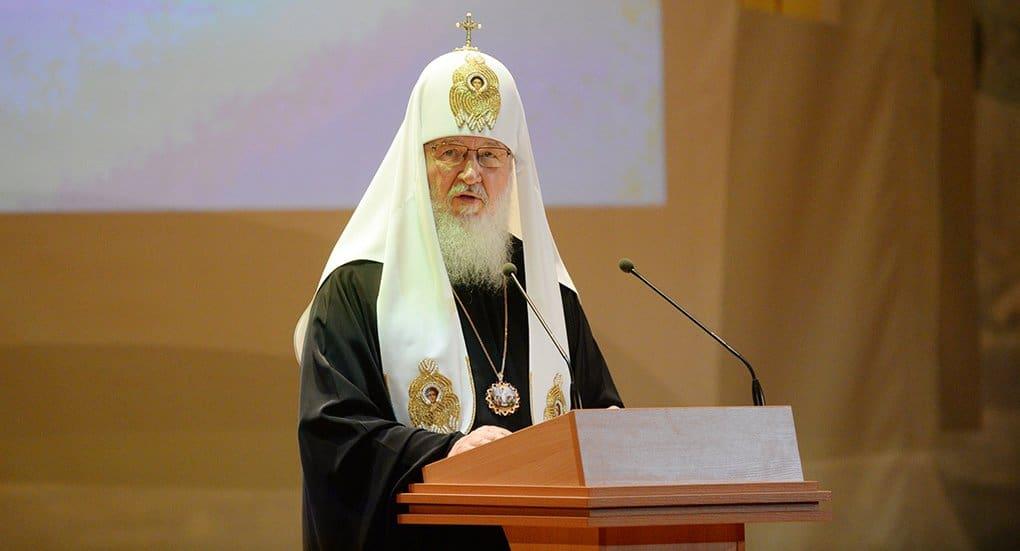 Патриарх Кирилл обеспокоен тем, что в школе сокращается изучение русского языка и литературы